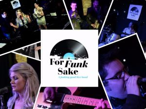 For Funk Sake Wedding Function Band Leeds Yorkshire